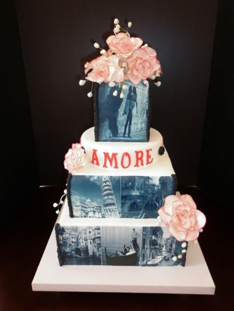 engagement-cake