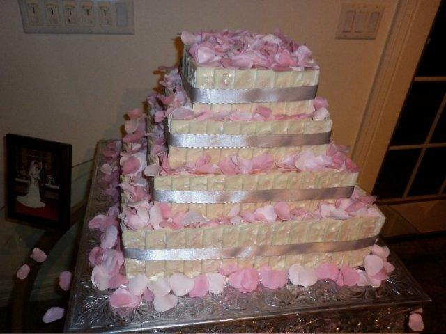 Rosebud Wedding Cake