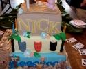 Hawaii Grad Cake