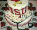 ISU Nursing Grad Cake
