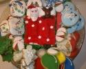 santa and his cookies
